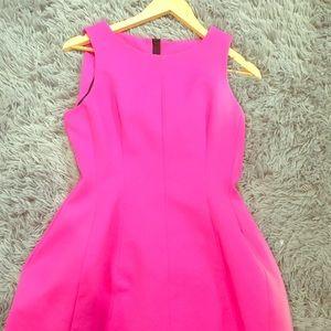 Zara pink tulip dress large // Asos dress
